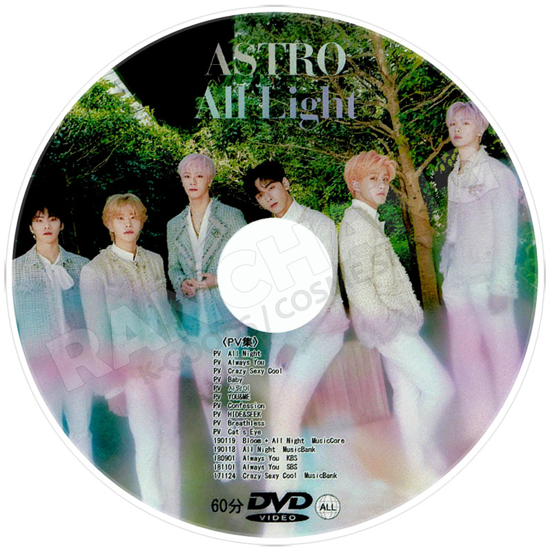 【K-POP DVD】☆★ASTRO COMEBACK SHOWCASE DREAM PART.01★(2017.05.29)【日本語字幕あり】