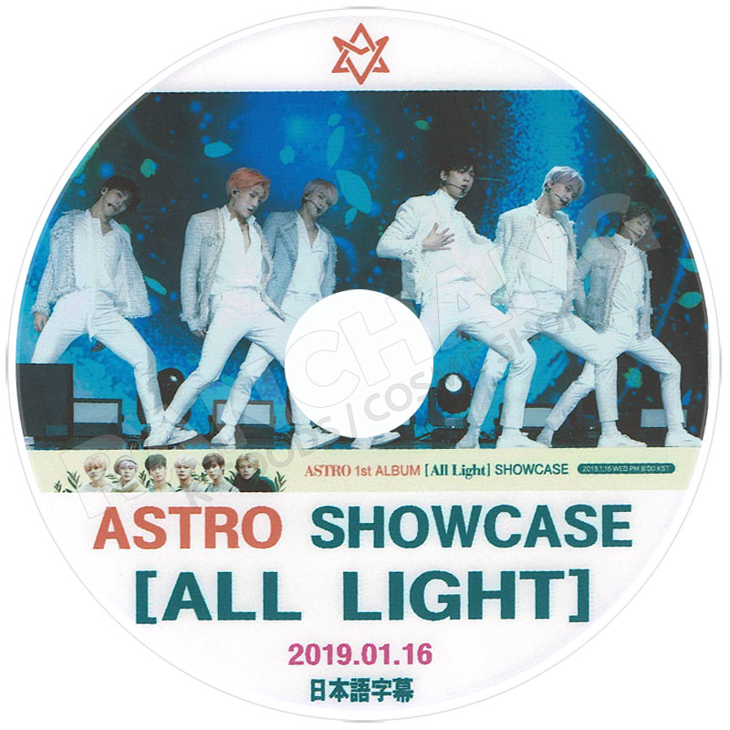 【K-POP DVD】☆★ASTRO 2019 Showcase(2019.01.16)★All Light【日本語字幕あり】