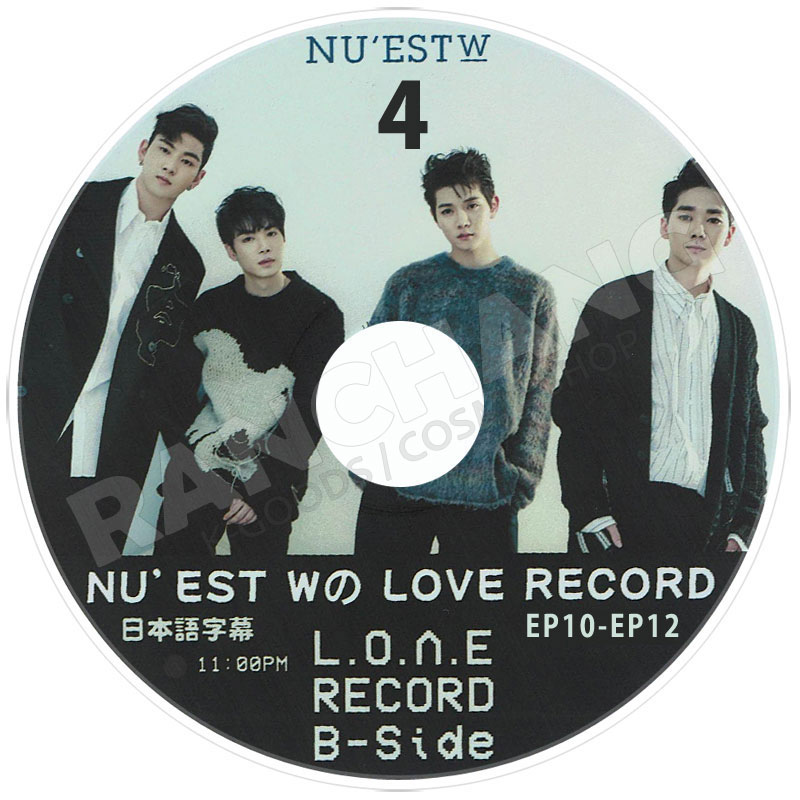 【K-POP DVD】☆★NU'EST W LOVE Meet Cooking Boxed Meal #4★(EP13-16)【日本字幕あり】