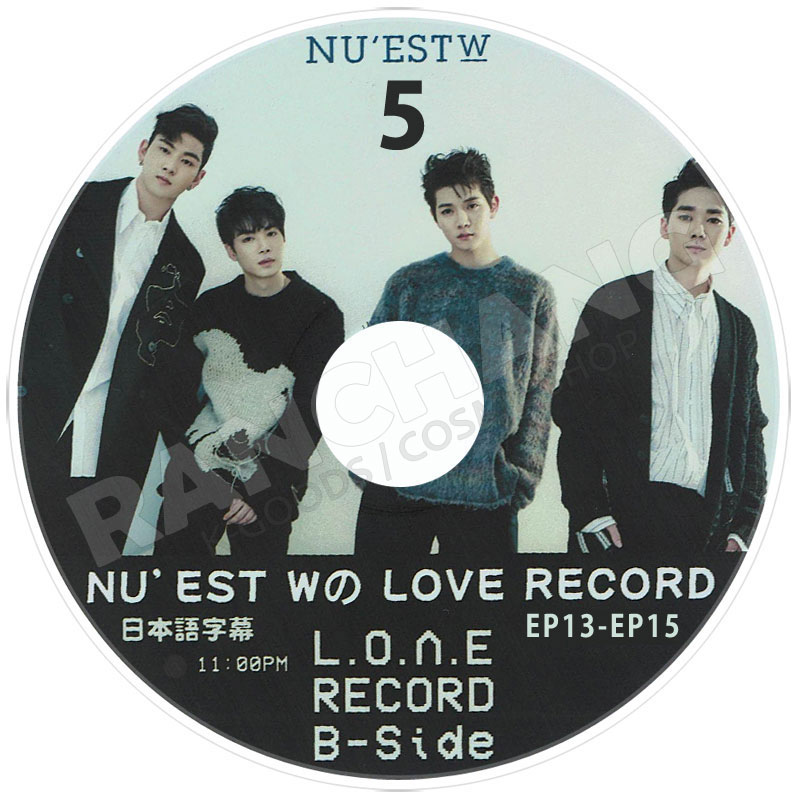 【K-POP DVD】☆★NU'EST W LOVE Boxed Meal★(2018.08.24)【日本字幕あり】
