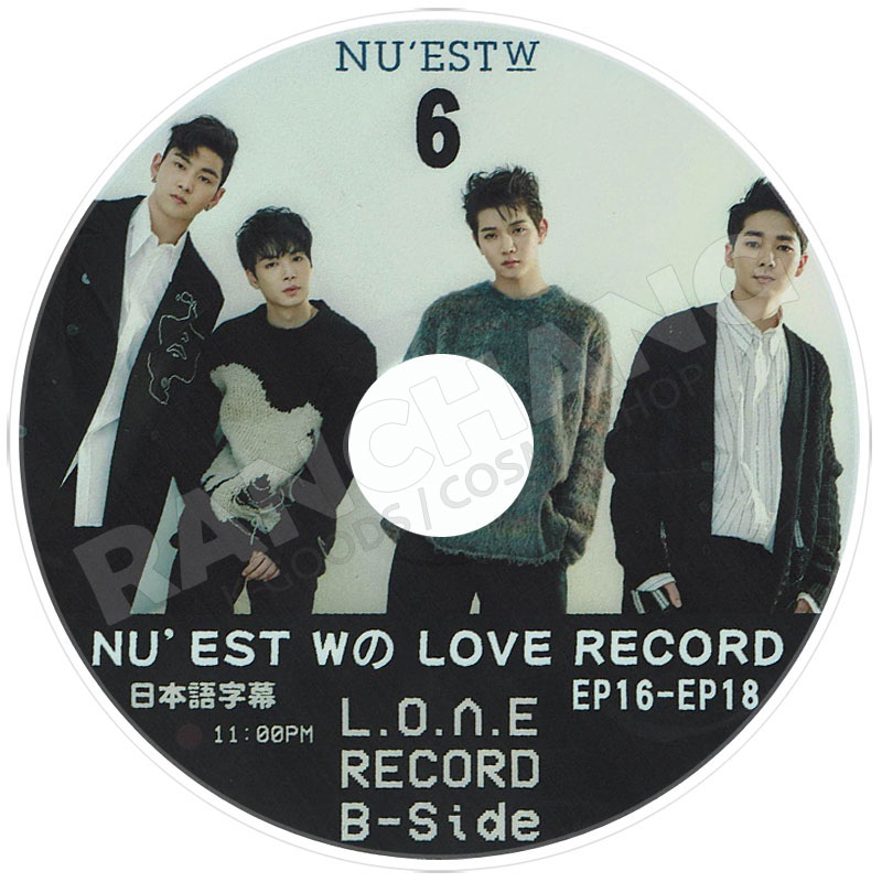 【K-POP DVD】☆★NU'EST W LOVE Boxed Meal★Cook & Vacance(2018.08.29)【日本字幕あり】