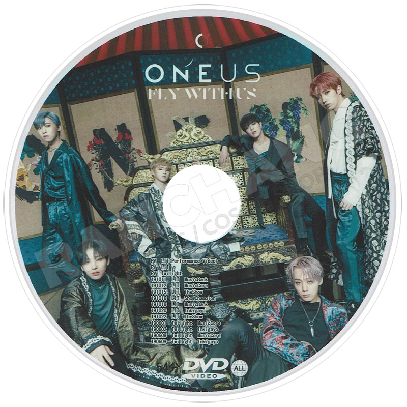 【K-POP DVD】☆★ONEUS PV&TV セレクト★Twilight Valkyrie Last Song