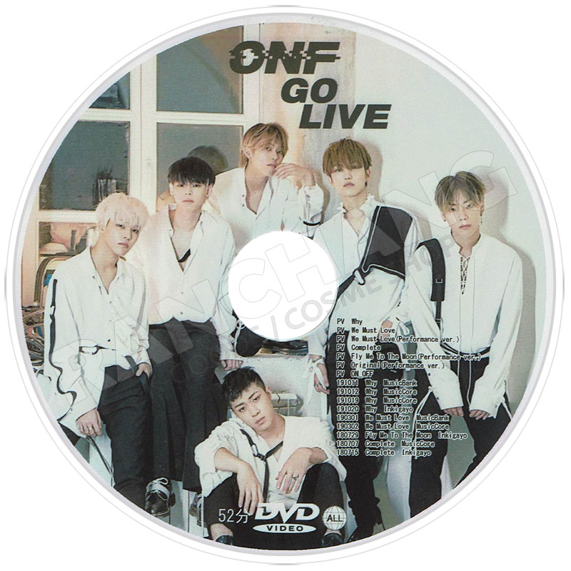 【K-POP DVD】☆★ONF Fan Meeting Live(2017.08.30)★【日本語字幕あり】