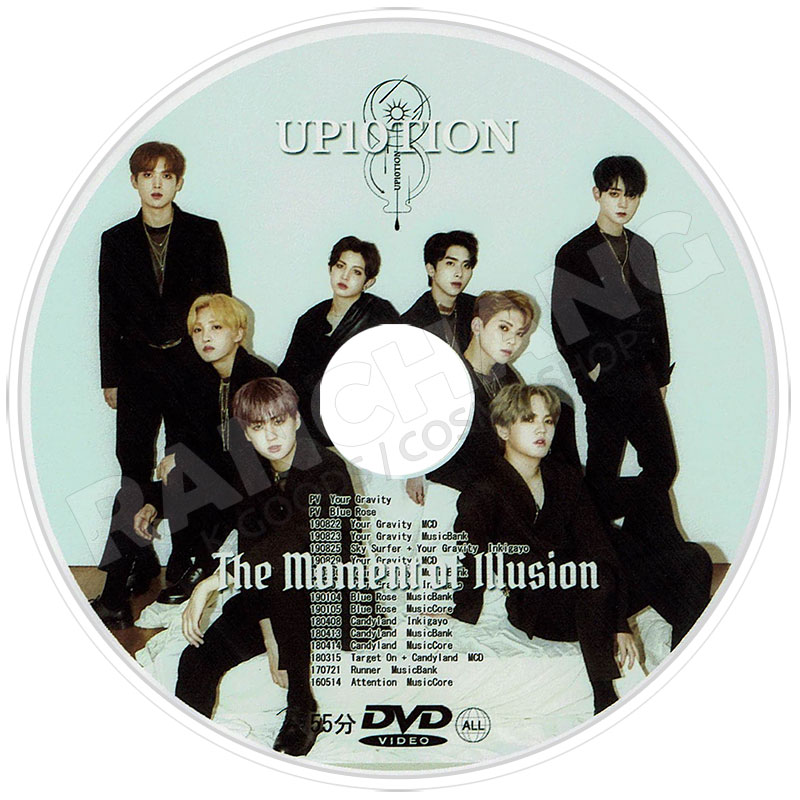 【K-POP DVD】☆★UP10TION BEST PV COLLECTION★Your Gravity