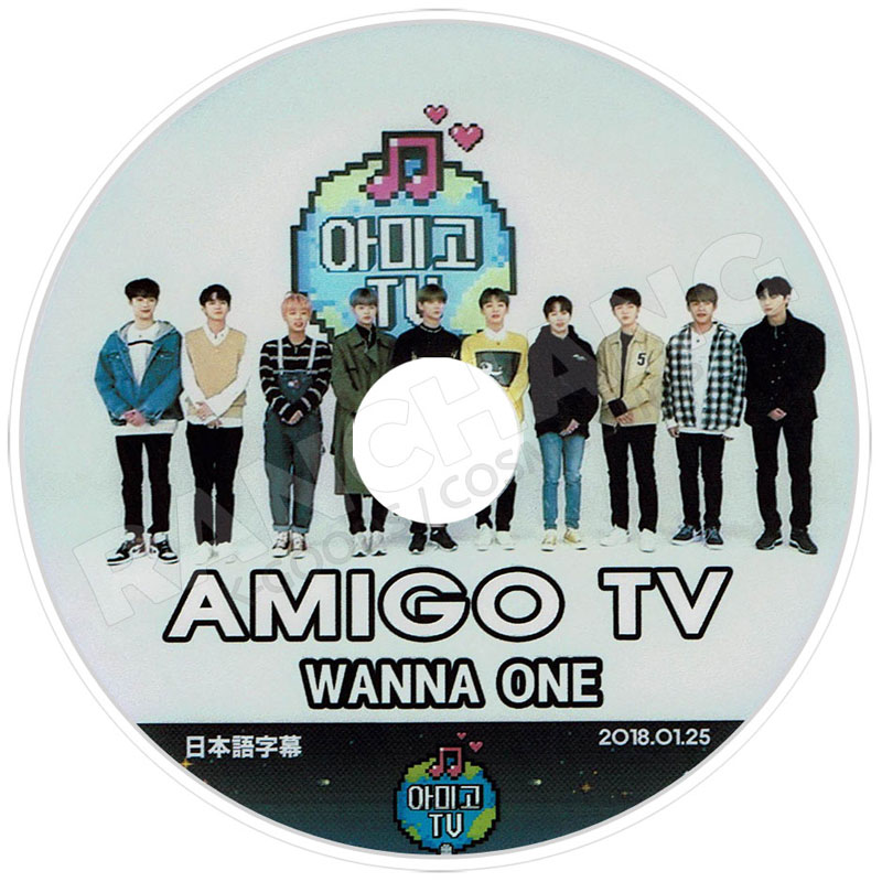【K-POP DVD】☆★Wanna One 2018 TV セレクト★Spring Breese