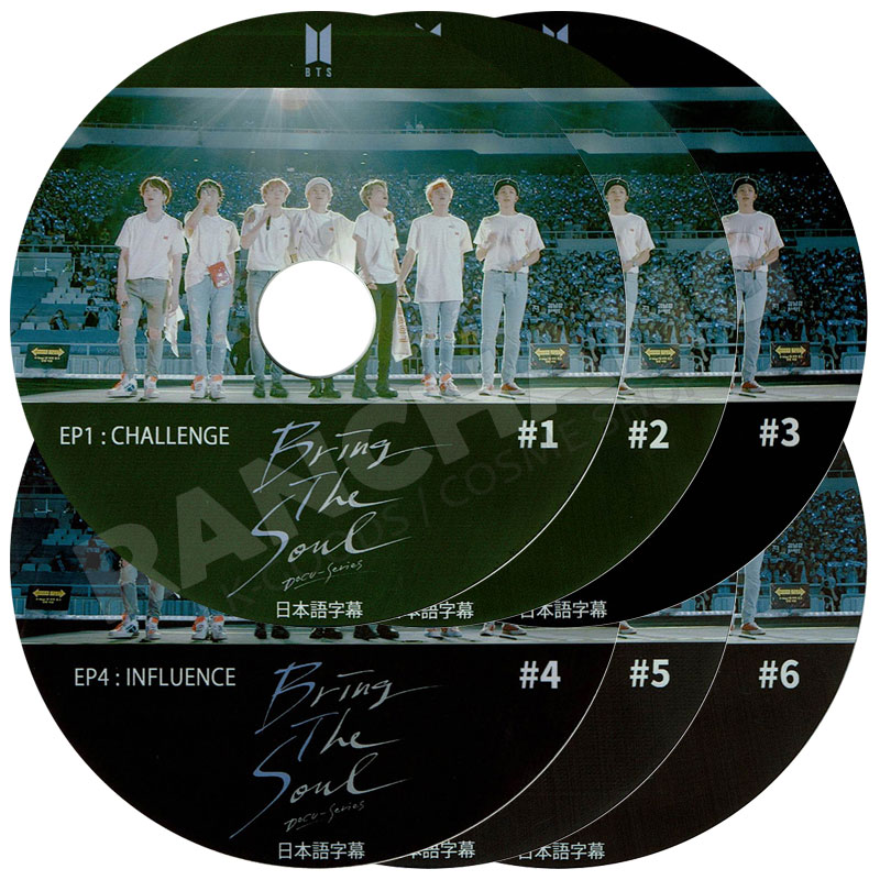 【K-POP DVD】☆★BTS Bring The Soul EP1-6 (6枚SET)★【日本語字幕あり】