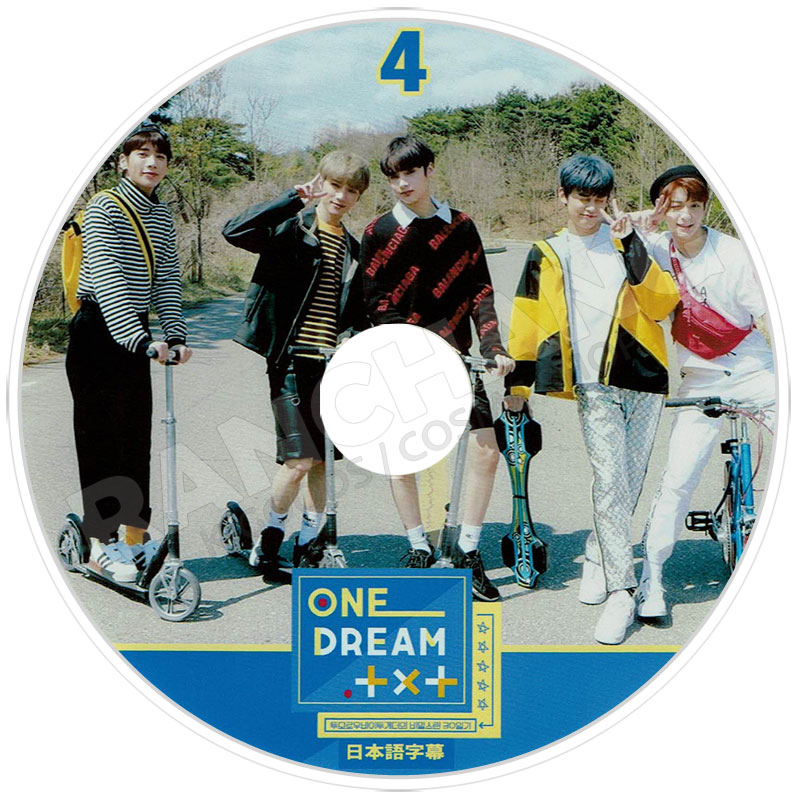 【K-POP DVD】☆★TXT ONE DREAM TXT #4★【日本語字幕あり】