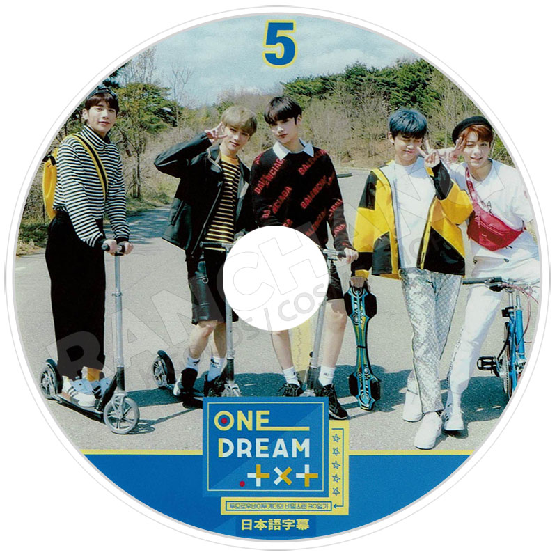 【K-POP DVD】☆★TXT ONE DREAM TXT #5★【日本語字幕あり】