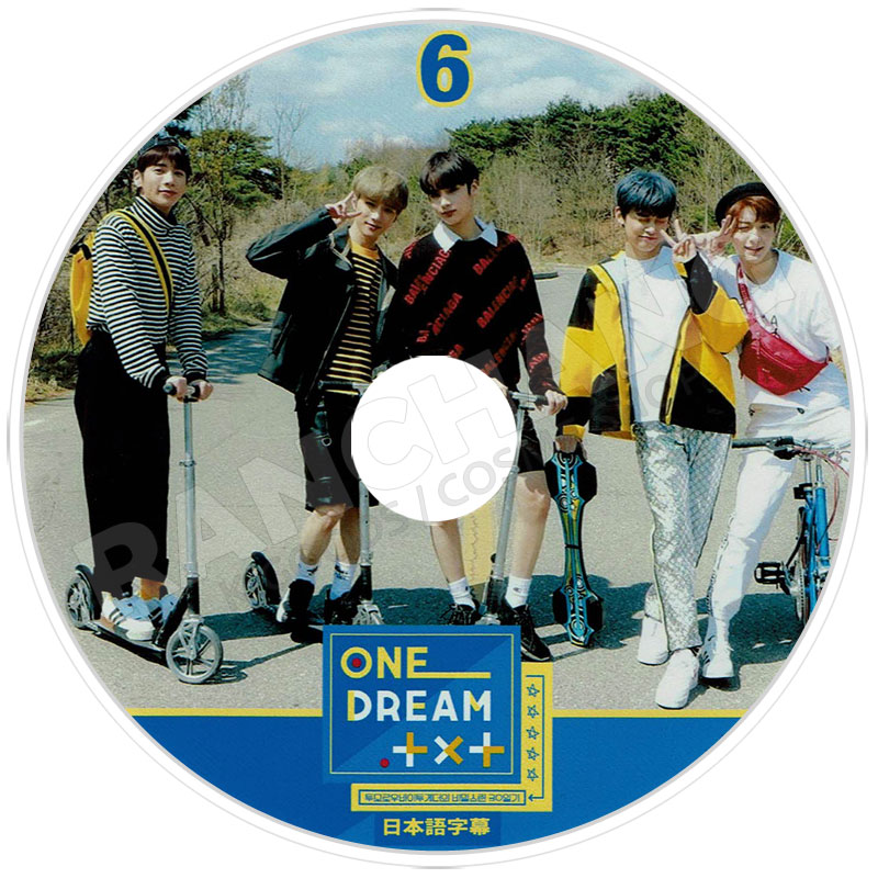 【K-POP DVD】☆★TXT ONE DREAM TXT #6★【日本語字幕あり】