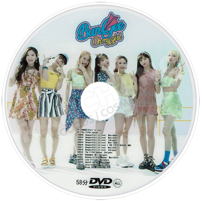 【K-POP DVD】☆★Oh My Girl BEST PV COLLECTION★Bungee