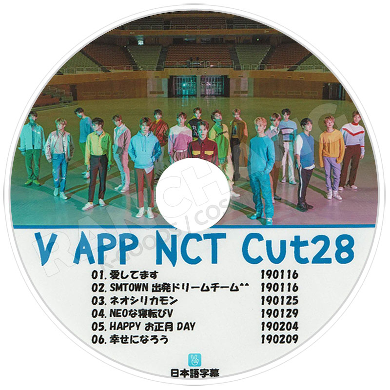 【K-POP DVD】☆★NCT V LIVE CUT-28★【日本語字幕あり】