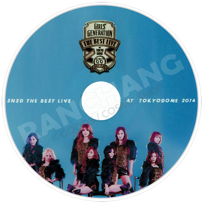 【K-POP DVD】☆★少女時代 2014 THE  BEST  LIVE★☆IN TOKYO DOME